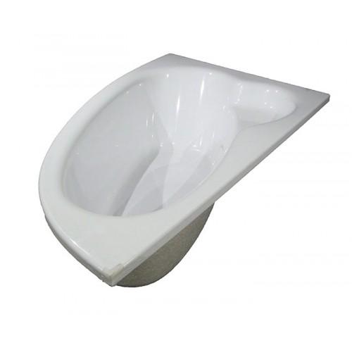 Ванна акриловая NATALIA 150х100 Левая без ног и панели