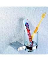 Стакан підвісний склянний 5702 (Premium) BADICO
