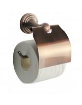 Тримач для туалетного паперу 8351 (бронза) BADICO