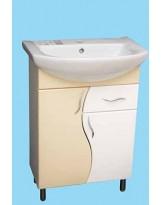 Шафка для ванної кімнати під умивальник Лібра  60  Т3  бежева