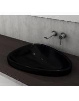Умивальник ETNA 58,5x45,8 глянцевий чорний (1112-005-0125)