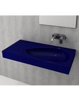Умивальник ETNA 90x45 глянцевий сапфір синій (1115-010-0125)