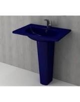 Умивальник TAORMINA ARCH 65х45 глянцевий сапфір синій (1009-010-0126)