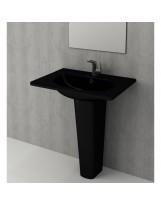 Умивальник TAORMINA ARCH 65х45 глянцевий чорний (1009-005-0126)