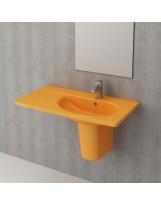 Умивальник TAORMINA ARCH 85х45 гляневий жовтий (1020-021-0126)