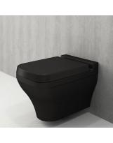 Унітаз підвісний SCALA ARCH мат. чорний+сид.дюроп.(1080-004-0129+А0322-004)