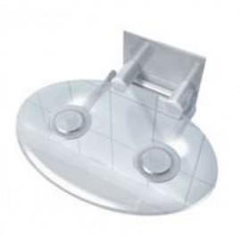 Сидіння в душову кабіну розкладне TX-116X прозоре