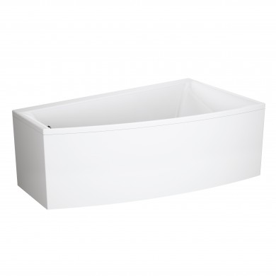 Ванна асиметрична VIRGO MAX  ліва/права з кріпленням