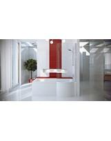 Ванна-душ акрилова INSPIRO права/ліва