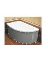 Обудова універсальна еластична до півкруглих ванн 240*58 (1.040)