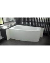 Ванна асиметрична LUNA (PMD) BESCO 150х80