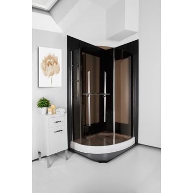 Кабіна душова півкругла P2063S LG PARADISO ITALIAN STYLE  120х90х185