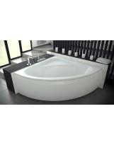 Ванна симетрична кутова (півкругла) LUKSJA (PMD) BESCO 148х148