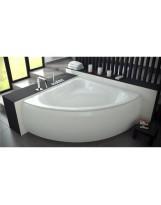 Ванна симетрична кутова (півкругла) EWA (PMD) BESCO  134x134