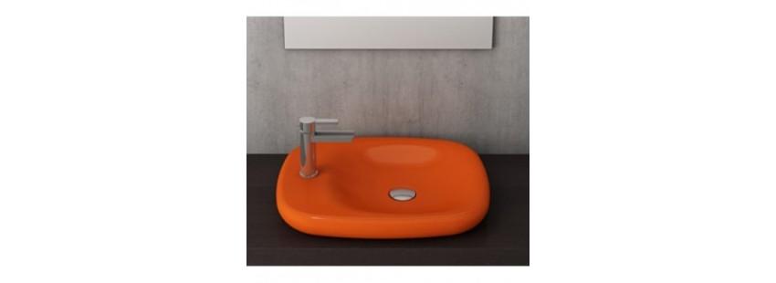 Кераміка в помаранчевому кольорі